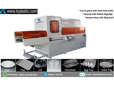 LX3122HF-COT plug contact heat thermoforming machine